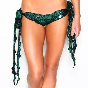 IHeartRaves Mermaid Tie Bottoms